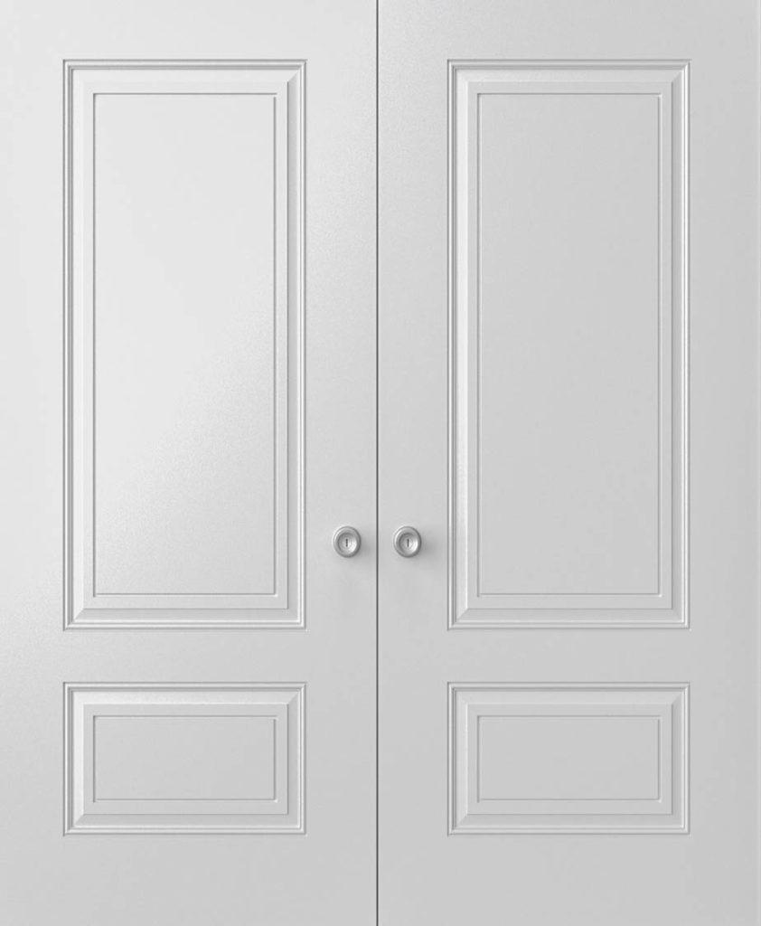 porte double