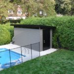 modèle de cabanon 1 versant avec fenêtre en acrylique