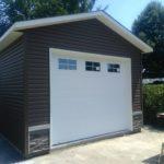 garage avec deux revêtement